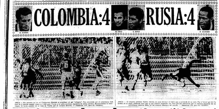 Primera página del 4 de junio: ¡el histórico 4-4 contra URSS!