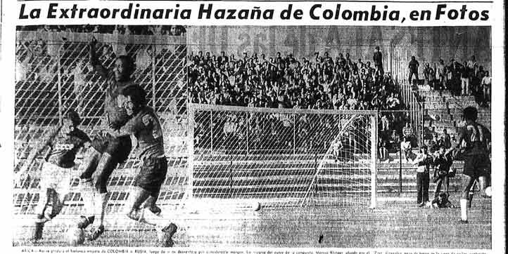 El diario le dedicó una página gráfica al empate 4-4 contra URSS