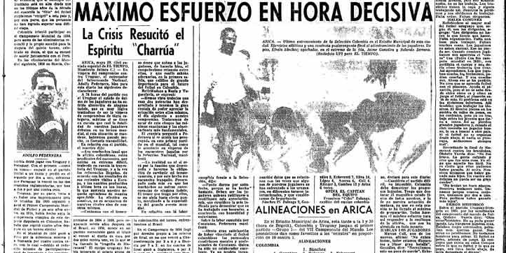 La Selección realizaba su ultima entrenamiento antes de debuta. El DT Pedernera rindió declaraciones exclusivas para el diario El TIEMPO