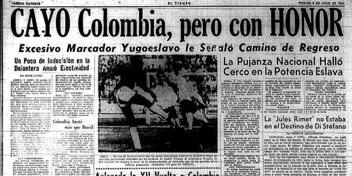 El 8 de junio fue oficial la eliminación tras perder 5-0 contra Yugoslavia.