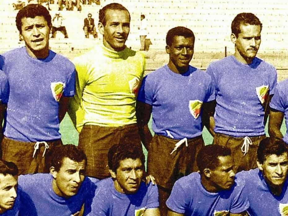 Primer Mundial de F�tbol de la Selecci�n Colombia Chile 1962