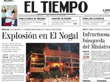 As� registr� EL TIEMPO el atentado a El Nogal