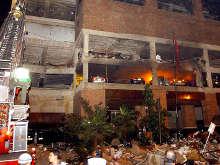 Im�genes del atentado al club El Nogal