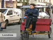 Bicitaxismo en el mundo 'sobre ruedas'