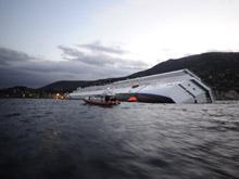 Video de evacuaci�n del crucero Costa Concordia