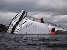 Imagenes del naufragio del lujoso crucero 'Costa Concordia'