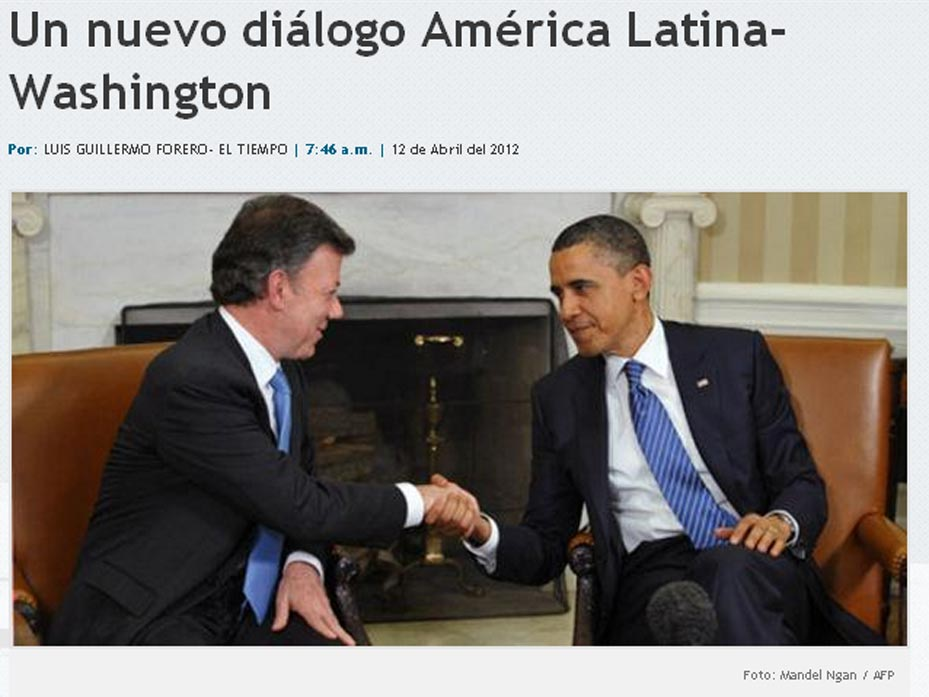Cumbre de las Américas 2012