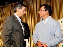 El Alcalde de Bogot� sale de su cargo; designado Rafael Pardo