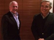 Pastrana y Uribe sí planean una alianza