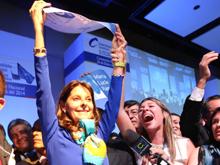 Uribistas, muy contentos con la nueva candidata 'azul'