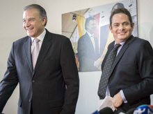 Vargas o Naranjo, ¿cuál será el vice de Santos?