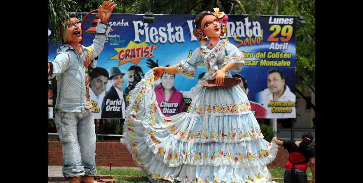 La capital del valle de Upar se encuentra engalanada en todos sus rincones por motivo del Festival de la Leyenda Vallenata.
