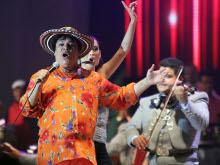 As� fue el concierto del Divo de Ju�rez y Pitbull en el Festival