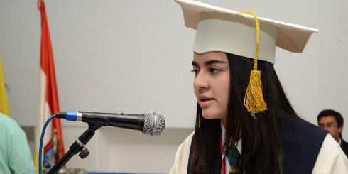 María Paula Contreras hace parte de la Orquesta Sinfónica Juvenil de