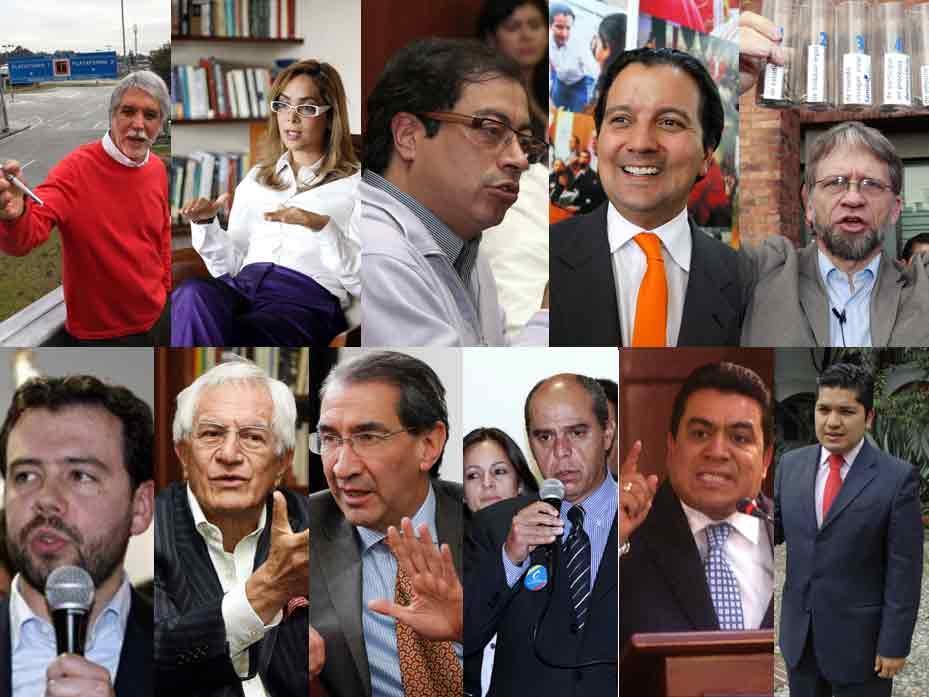 Análisis de la imagen de los candidatos a la Alcaldía de Bogotá