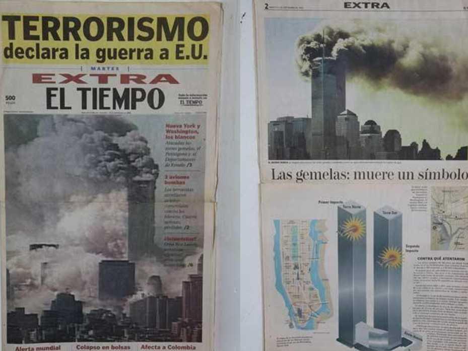 ¿Cómo cubrieron el 9/11 los medios de comunicación colombianos?