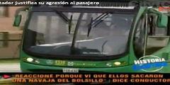 Conductor de TransMilenio que atac� a usuario dice que se defendi�