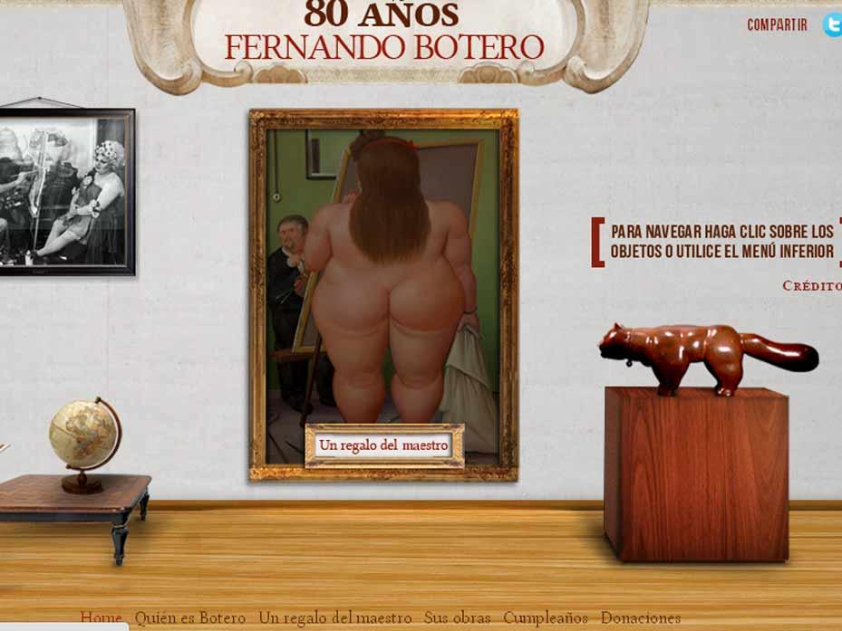 80 años de Fernando Botero