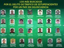 Fotos: Los más buscados por tráfico de estupefacientes en Colombia