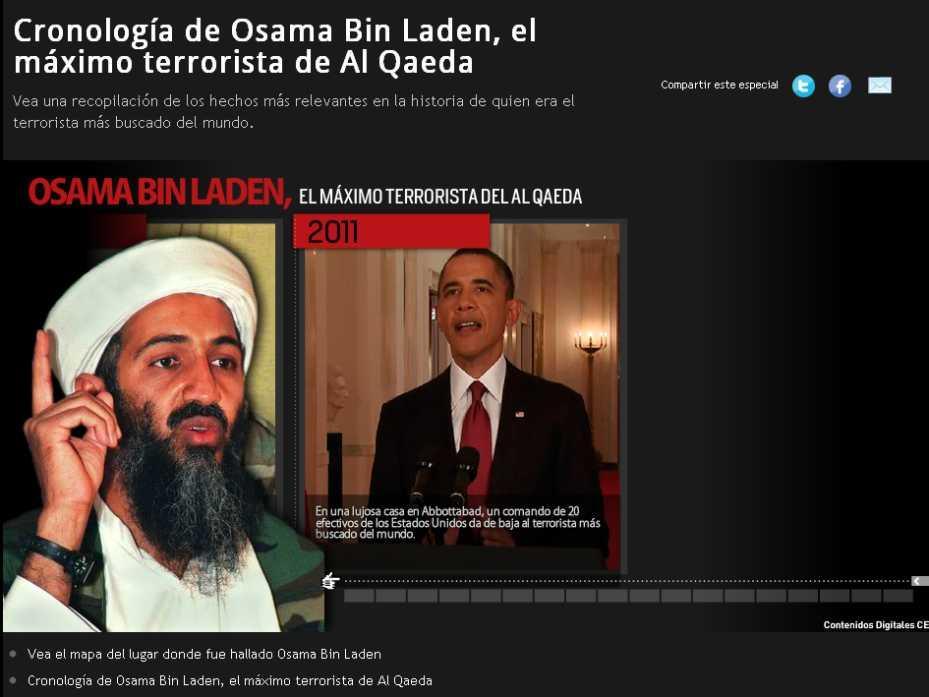 Osama Bin Laden fue dado de baja en una operaci�n en Pakist�n