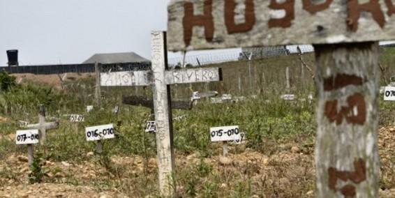 NN, a 'cementerios de la memoria'