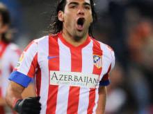 Falcao Garc�a, un 2012 lleno de goles