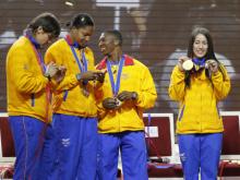 Una cita con las medallas ol�mpicas colombianas de Londres