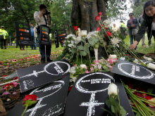 Caso Rosa Elvira Cely: s�mbolo de la indignaci�n nacional
