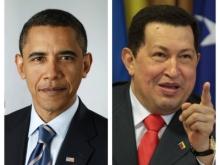 Barack Obama y Hugo  Ch�vez, los reelegidos del 2012