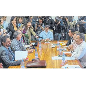 Reunión Congreso Farc