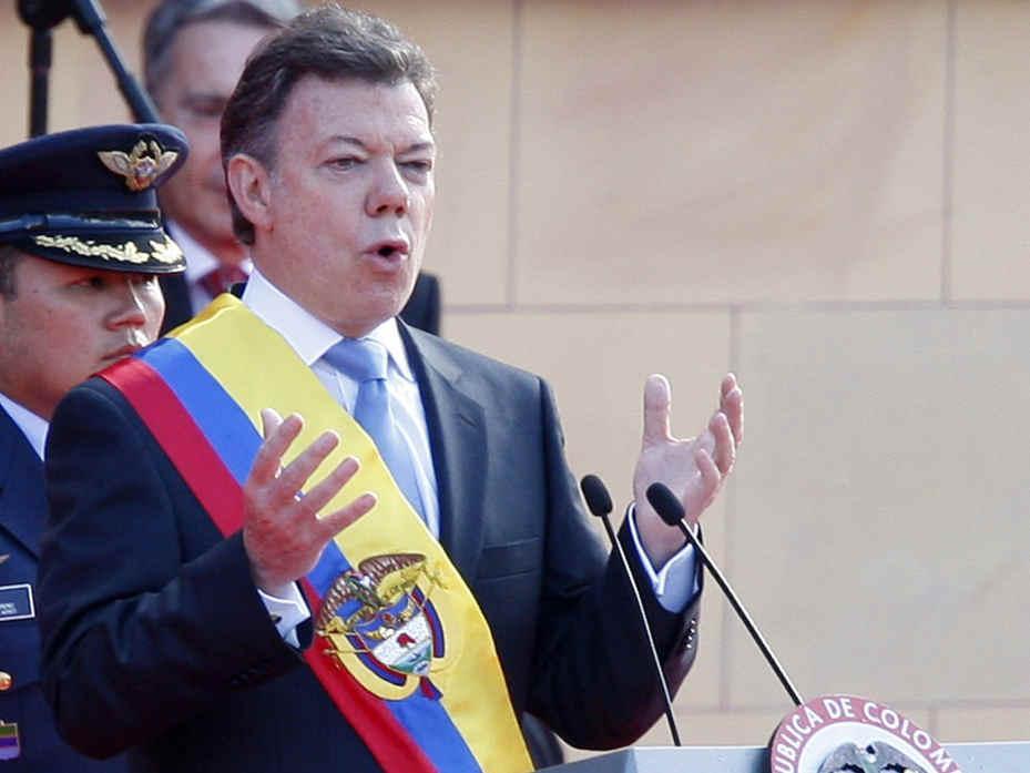 Santos: un año en el poder