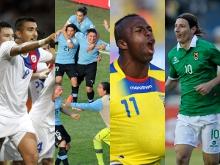 Chile, Uruguay, Ecuador y Bolivia hacen su negocio en la eliminatoria