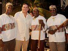 Palenque recibi� al Festival de M�sica