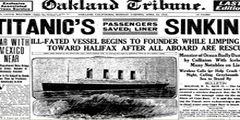 Así titularon los periódicos del mundo la tragedia del Titanic