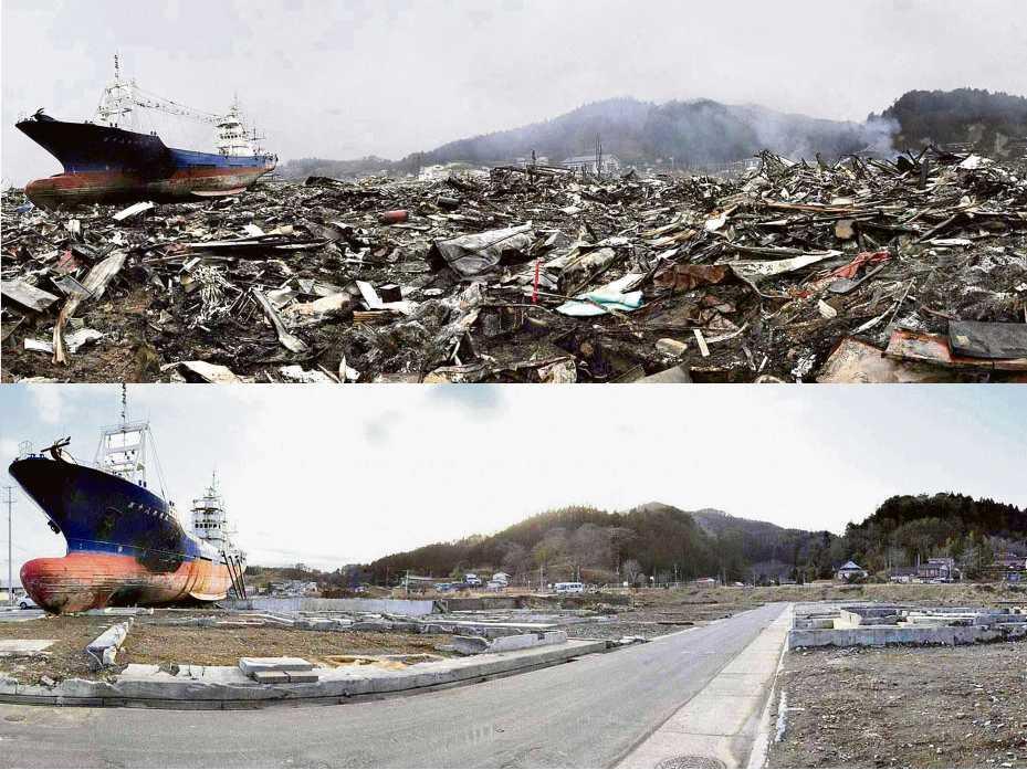 Tsunami de Japón Un Año Después