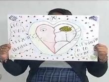 Mujeres v�ctimas de violencia dibujan sus sue�os