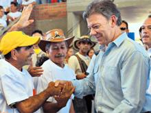 Santos, la madre Laura, la 'Toti' y Uribe, los personajes nacionales