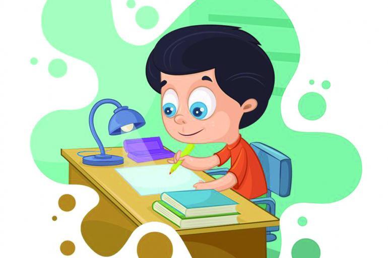 Los deberes escolares y de la casa