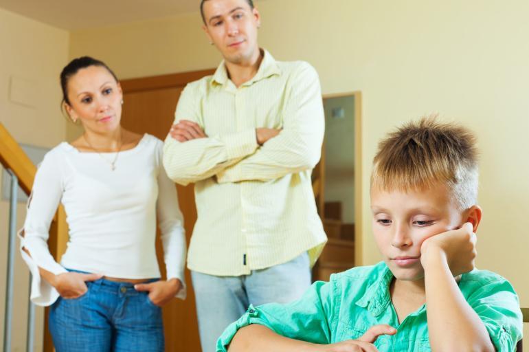 5. Papá y mamá no deben contradecirse