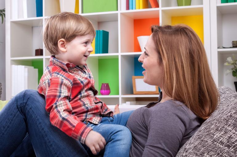 Habla todos los días con tu hijo