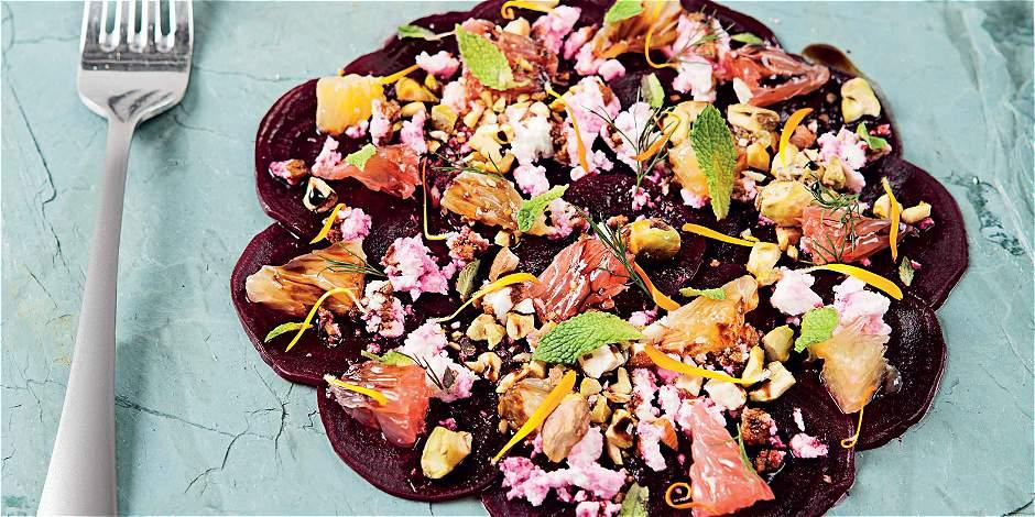 Carpaccio de remolacha: una receta saludable