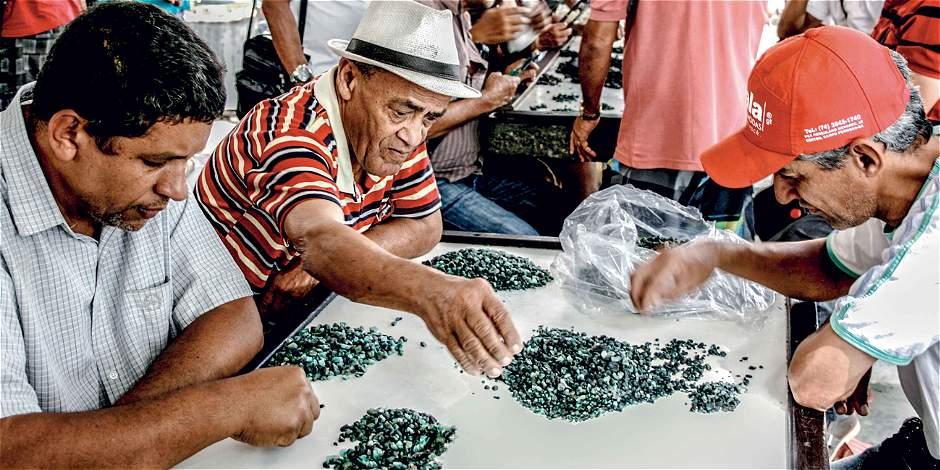 Esmeraldas: el tesoro verde de Brasil