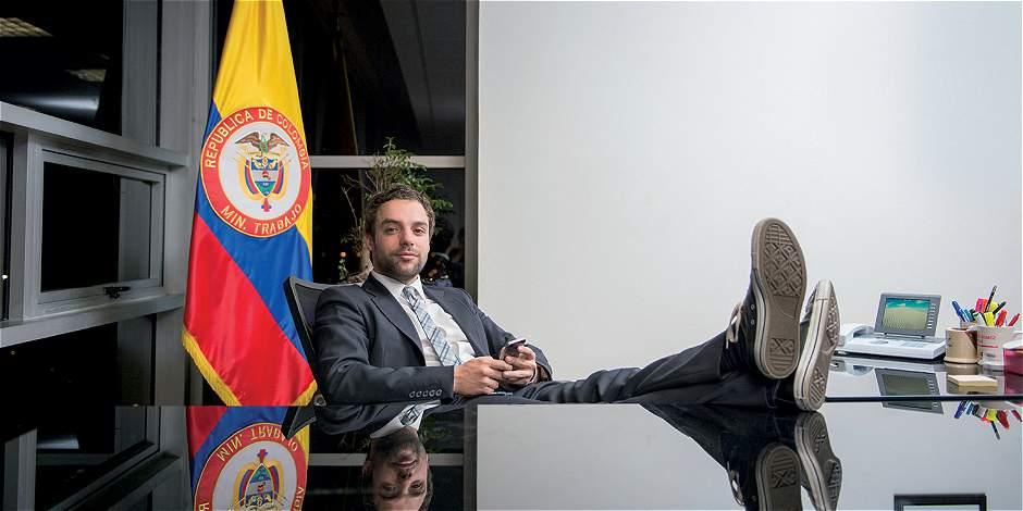 La moda de Luis Ernesto Gómez, viceministro de Empleo y Pensiones