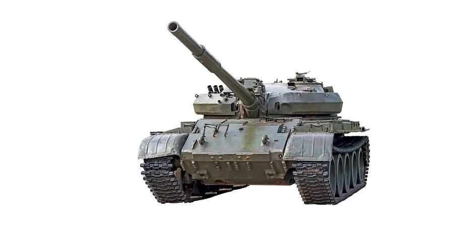 T-72: un tanque para parquear en su casa