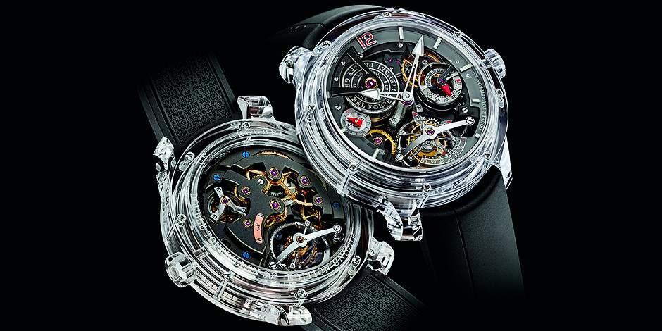 Relojes de zafiro: todas unas obras de arte