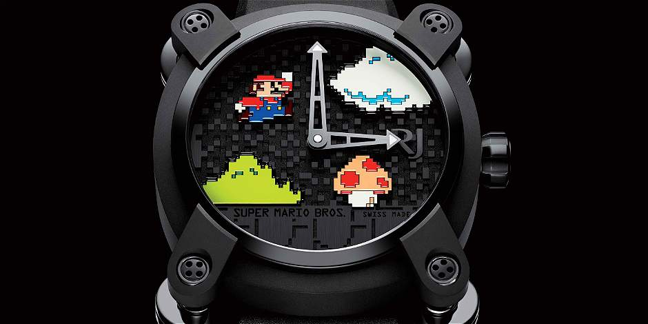 3 relojes inspirados en películas y videojuegos