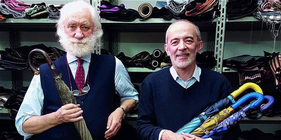 Así son las sombrillas hechas a mano de Francesco Maglia