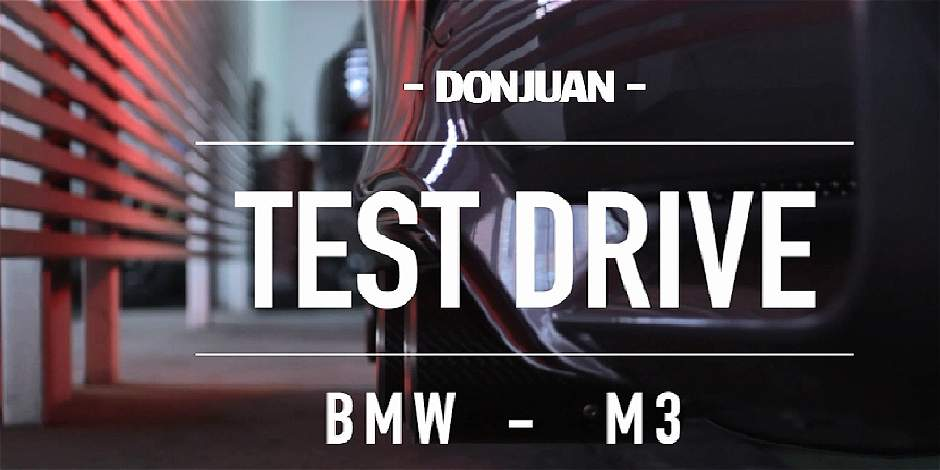 Test Drive del BMW M3