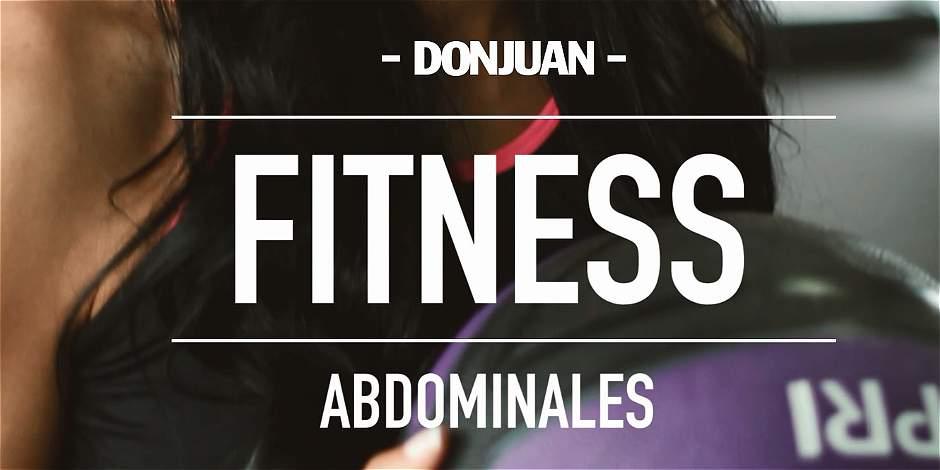 DONJUAN fitness: rutina para trabajar el abdomen
