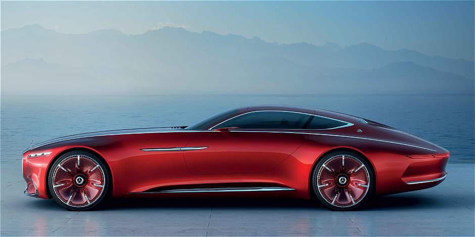 Así es el automóvil Vision Mercedes-Maybach 6